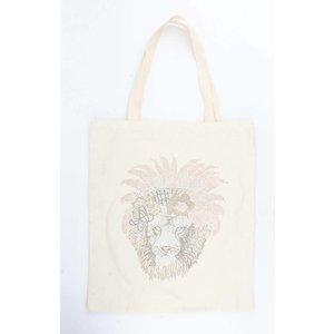 "Shopper ""Lion King"" off white"