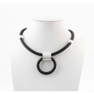 "Necklace ""Hilda"" black"