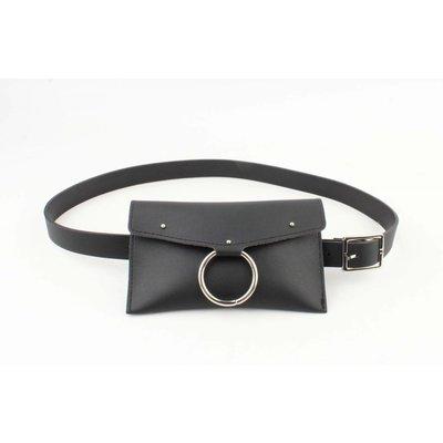"""Beltbag """"Ring"""" zwart"""