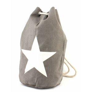 "Duffle bag ""Star"" grey"