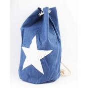 "Duffle bag ""Star"" blue"