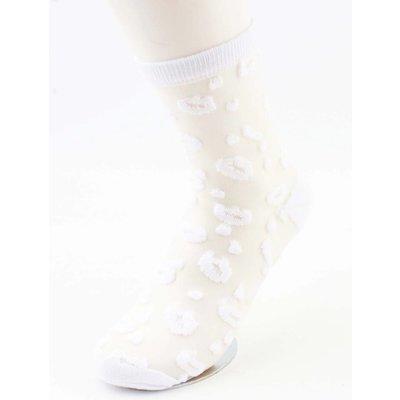 """Socken """"Lips"""" weiß, doppelpack"""