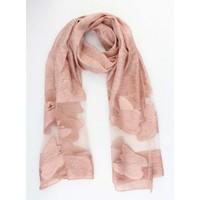 """Sjaal """"Vlinder"""" oud roze"""