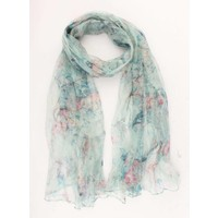 "Scarf ""Sparrow"" mint green"