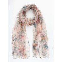 "Scarf ""Sparrow"" pink"