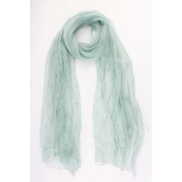 "Scarf ""Jeanine"" Mint green"