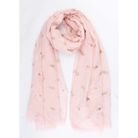 """Scarf """"Pineapple deluxe"""" pink"""