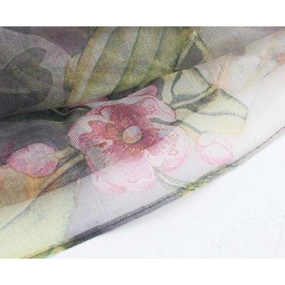 "Sjaal ""Blossom"" groen"