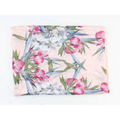 """Schal """"Stars & Blumen"""" rosa"""