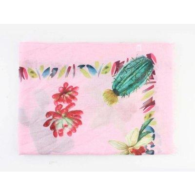"""Schal """"Kaktus"""" rosa"""
