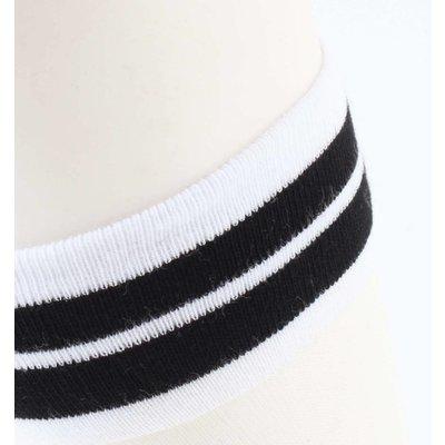 "Socken ""Mesh & Stripes"" weiß, doppelpack"