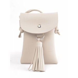 "Cross body ""Tassel"" sand"
