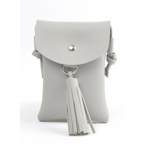 "Cross body ""Tassel"" grey"