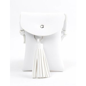 "Cross body ""Tassel"" white"