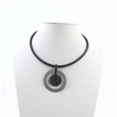 "Short necklace ""Grace"" black"