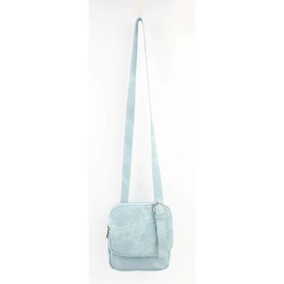 "Cross body ""Denim look"" light blue"