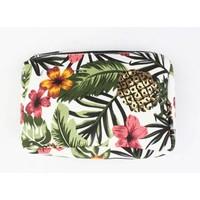 "Cosmetic bag ""Tropica paradise"" green"