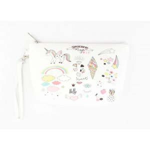 "Toilet bag ""Unicorn Magic"" white"