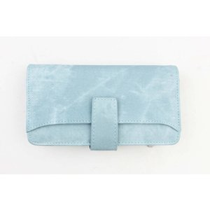 "Wallet ""Denim look L"" light blue"