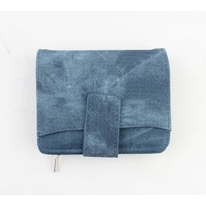 "Wallet ""Denim look M"" blue"
