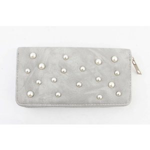 "Wallet ""Pearls"" grey"