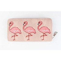 "Wallet ""Flamingo"" pink"
