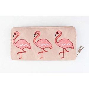 """Portemonnee """"Flamingo"""" roze"""