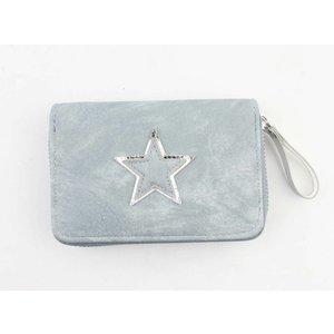 "Wallet ""Shiny star"" blue"