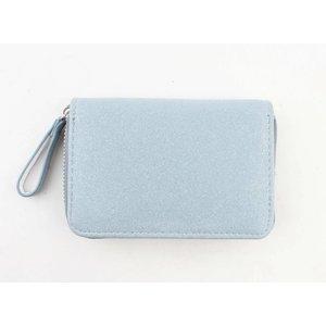 """Wallet """"Glitter"""" blue"""