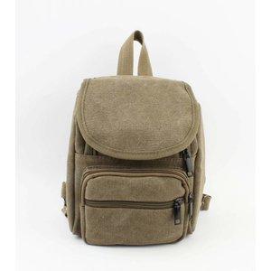 """Small backpack """"Traveller"""" kakhi green"""