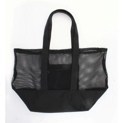 "Beach bag ""Mesh"" black"
