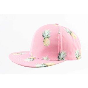 """Kap """"Ananas"""" rosa"""