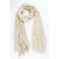 "Scarf ""Laurie"" taupe"