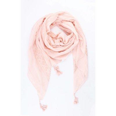 """Vierkante sjaal """"Kayla"""" roze"""