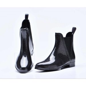 "Rain boots ""Chelsea glamour"" black"