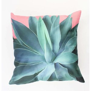"Pillow ""Agave"" multi-color"