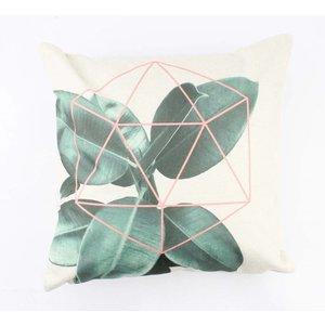 """Pillow """"Ficus"""" white"""