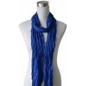 "Scarf ""Uni Jersey"" cobalt blue"