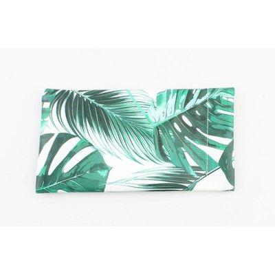 "Brillenetui ""Palmblätter"" grün"