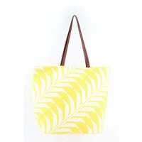 "Beach bag ""Sunshine"" yellow"
