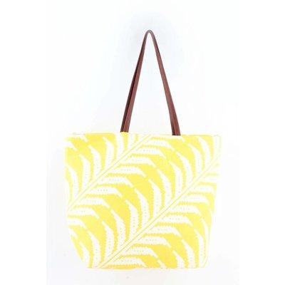 """Beach bag """"Sunshine"""" yellow"""
