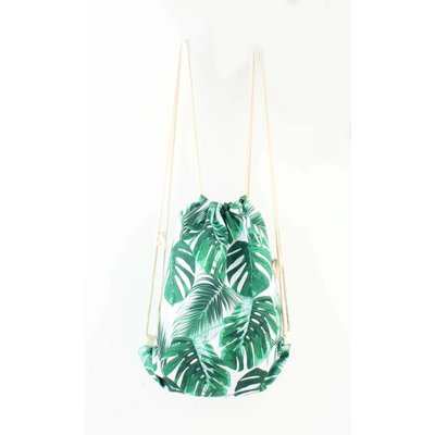 """Backpack """"Palm leaves"""" green"""