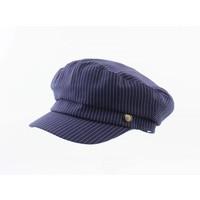 """Baker boy hat """"Chalkstripes"""" blue"""
