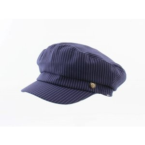 "Bakery boy Kap ""Kreide Streifen"" blau"