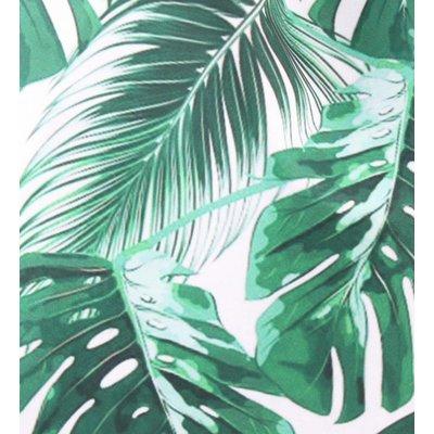 "Rucksack ""Palmblätter"" grün"
