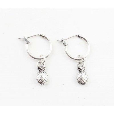 """Earring """"Pineapple"""" silver"""