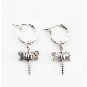 "Earring ""Dragonfly"" silver"