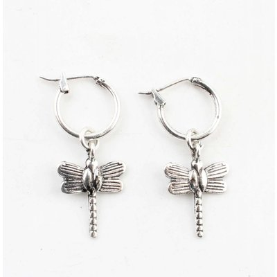 """Earring """"Dragonfly"""" silver"""