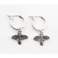 "Earring ""Bumblebee"" silver"