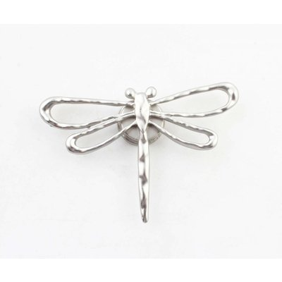 "Magnet ""Dragonfly"" silver"